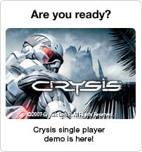Download the single player Crysis demo