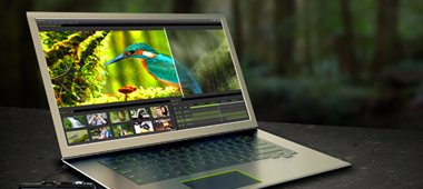 Boost your laptop performance by up to 6.5x with the NVIDIA GeForce GT 700M series dedicated graphics.