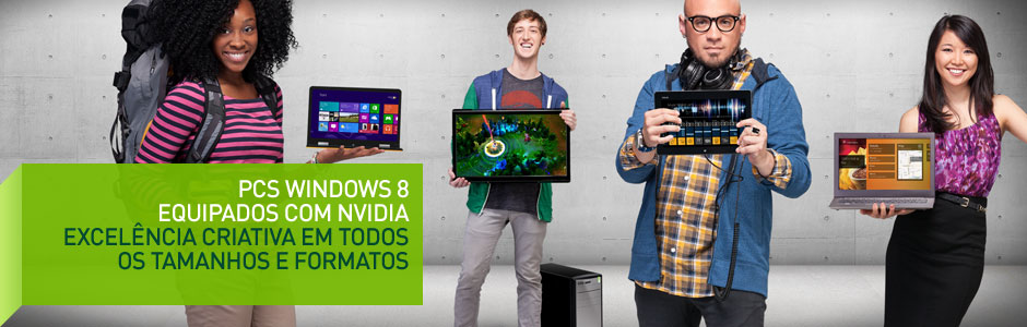 NVIDIA-Powered Windows 8 PCs