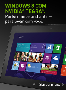 Windows 8 com NVIDIA GeForce