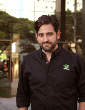 Leo De Biase gerente de marketing da NVIDIA no Brasil