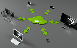 NVIDI A GRID solutions let users stream games from any device, anywhere.