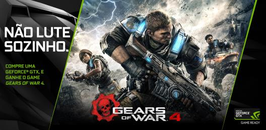 NVIDIA dá Gears of War 4 na compra de GeForce GTX 1070 e GeForce GTX 1080