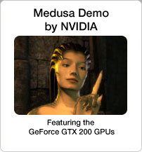 Medusa Demo by NVIDIA