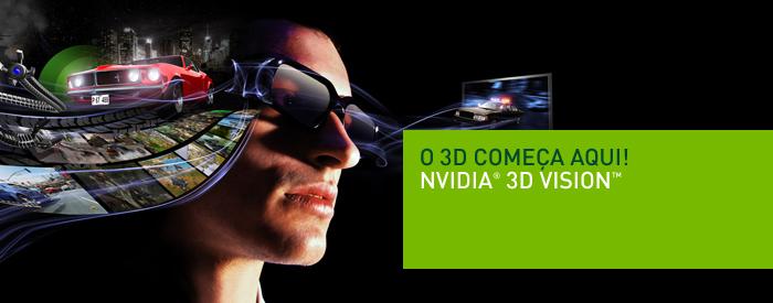 736edce2302a9 Confortável e emborrachado, o 3D Vision serve até por cima de óculos  tradicionais, sem incomodar. No pacote, vêm três peças para encaixar no  nariz, ...